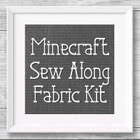 Minecraft Sew Along Fabric Kit