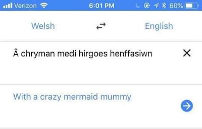 with a crazy mermaid mummy