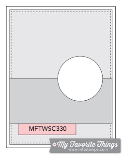 Sketch Challenge 330 #mftstamps
