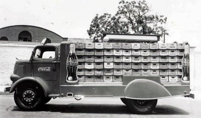 Vintage Coca Cola Delivery Trucks in the 1950's ~ vintage ...