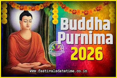 2026 Buddha Purnima Date and Time, 2026 Buddha Purnima Calendar