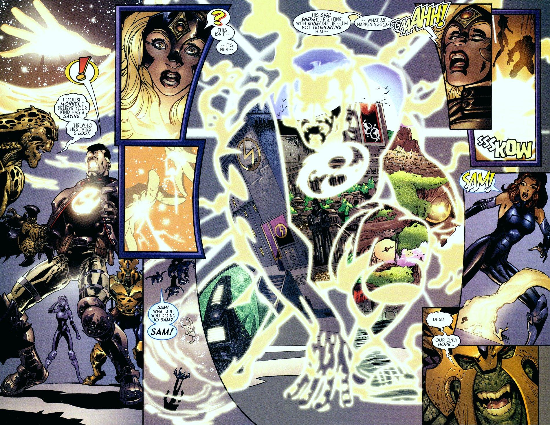 Read online Sigil (2000) comic -  Issue #16 - 18