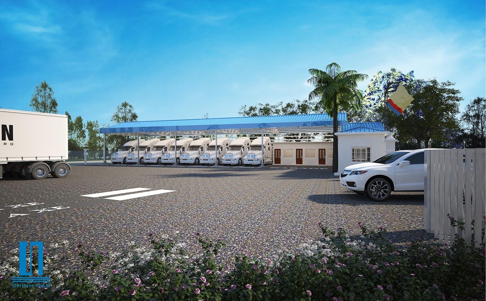 Thiết kế nhà xưởng công ty TNHH Hưng Thịnh Phát
