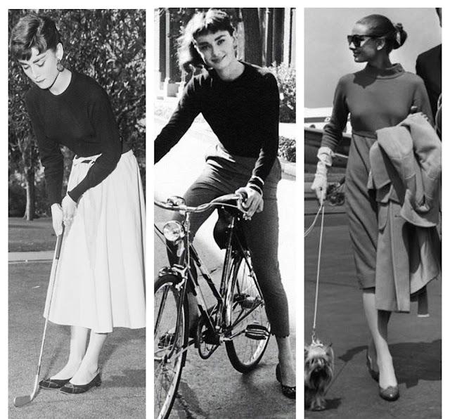Moje modowe inspiracje kto mnie inspiruje gdzie szukać jak znaleźć swój styl inspirować się ikona stylu Audrey Hepburn moda