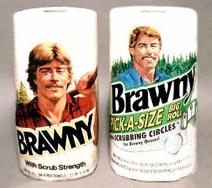 Vintage Brawny Man