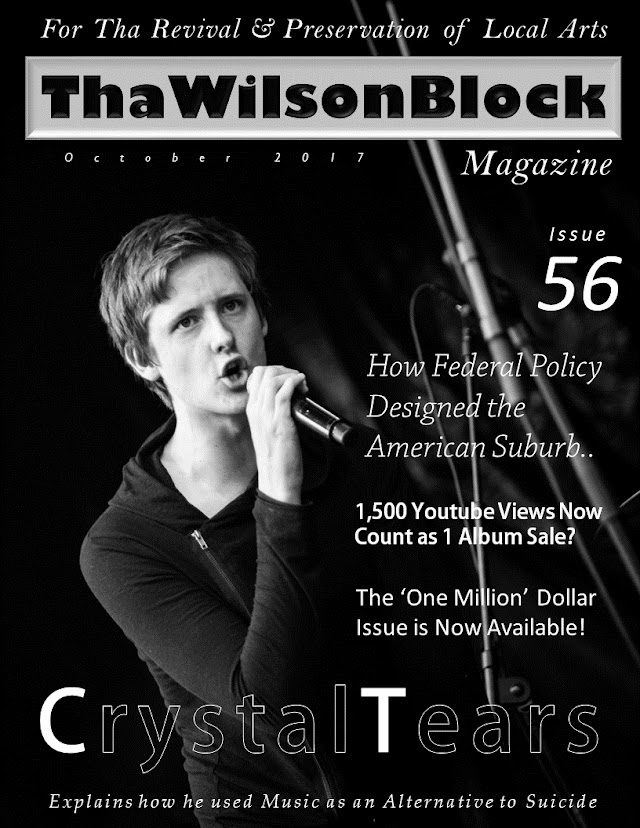 ThaWilsonBlock Magazine Issue56 (October 2017) featuring CrystalTears