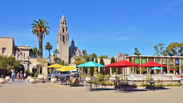 Conhecendo San Diego por cima