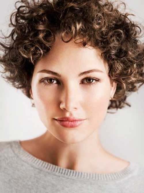 Lovely Short Curly Hairstyles for Women in 2017 Spring | Hairstyles ...
