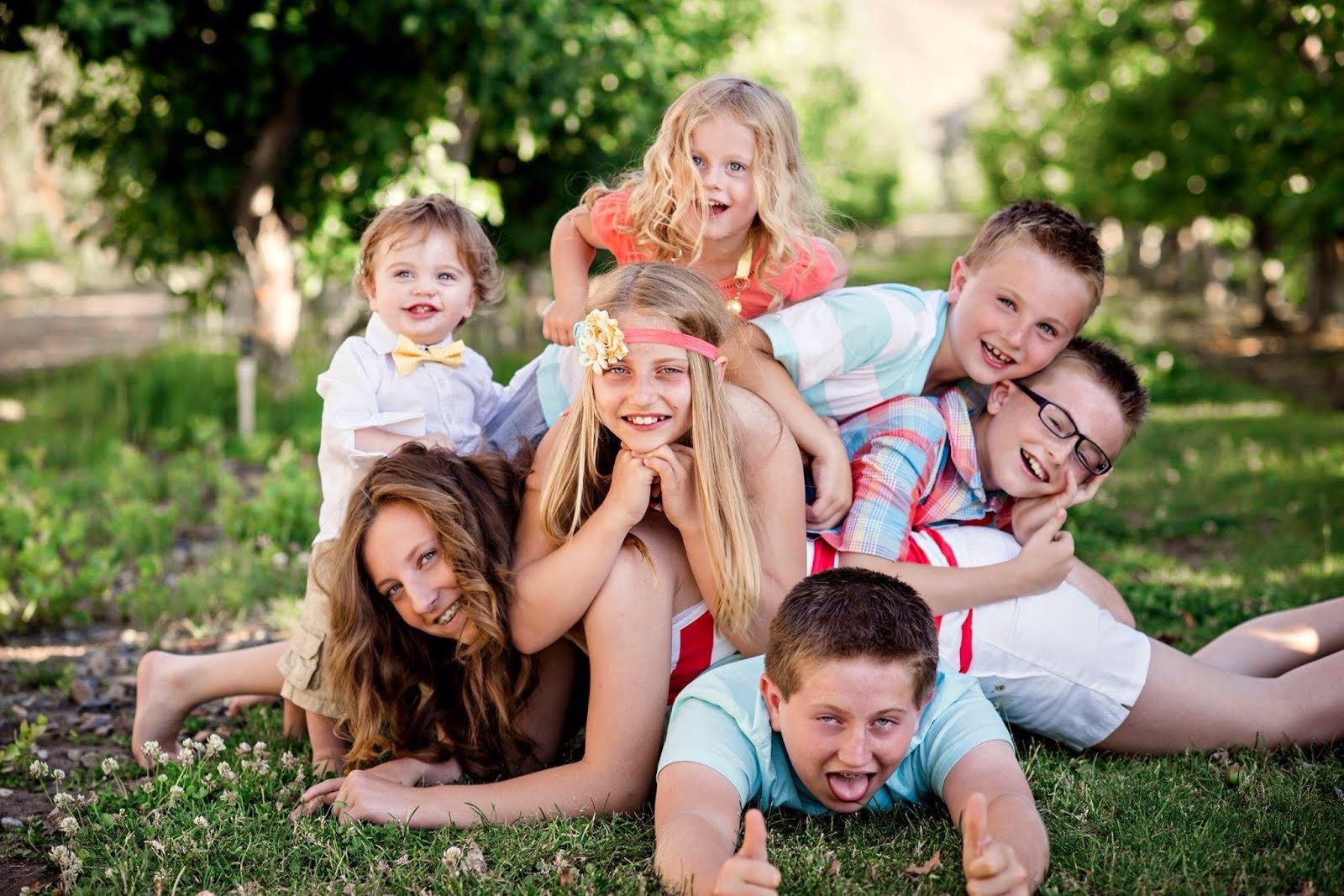 My pile of blessings!