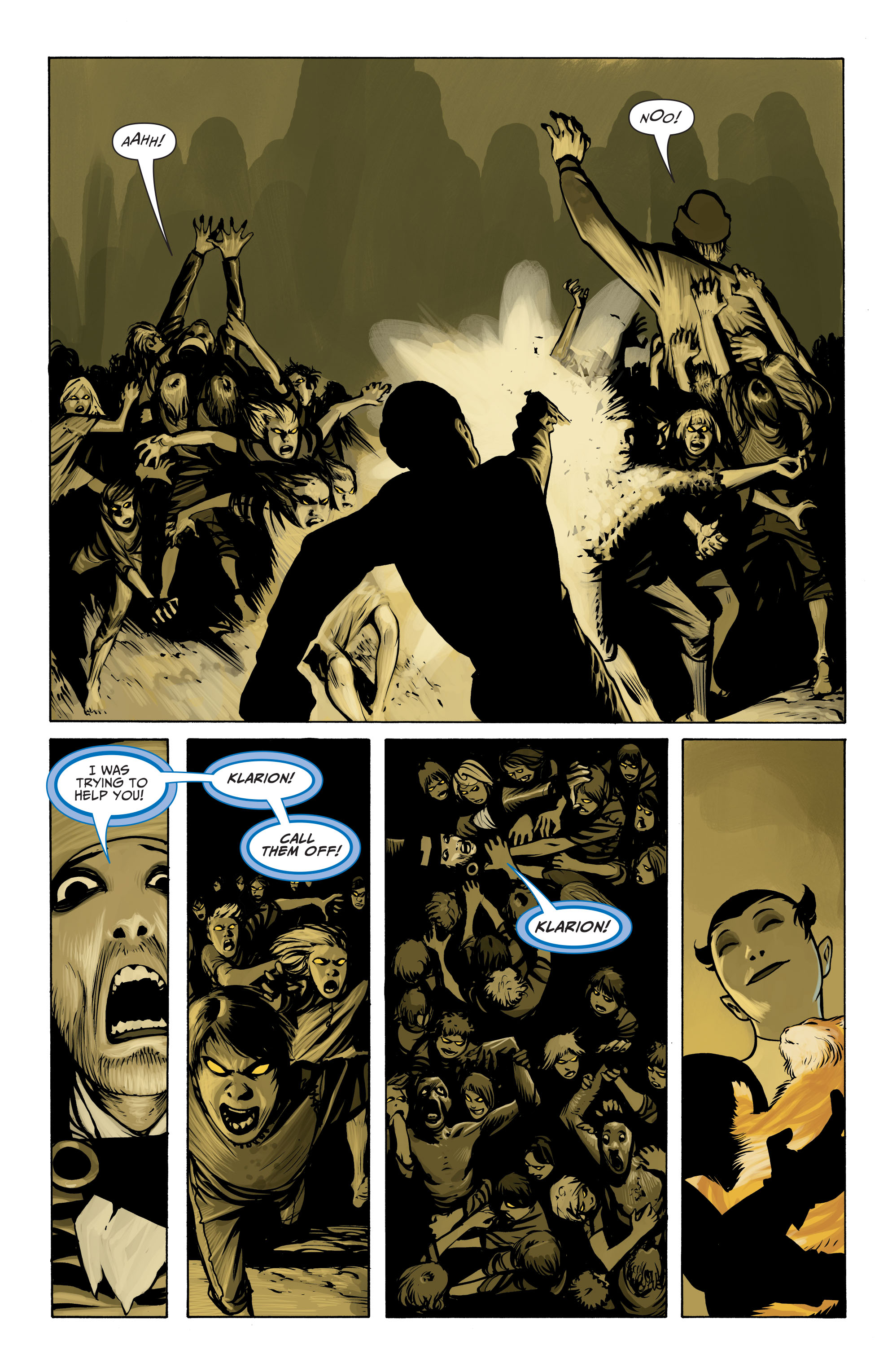 Read online Seven Soldiers: Klarion the Witch Boy comic -  Issue #2 - 20