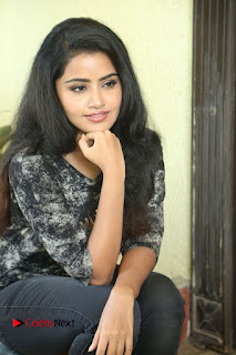 Actress Anupama Parameshwaran Pictures in Jeans at Premam Movie Interview  0159.JPG
