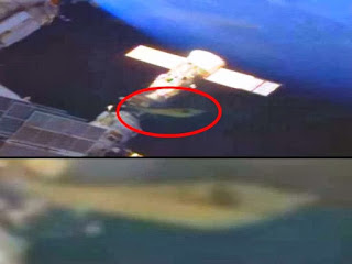 A Ufo is at the iss.