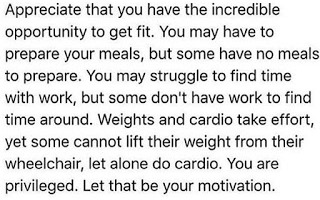 Getting Fit is an Incredible Opportunity