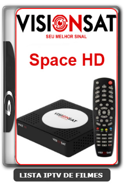Visionsat Space HD Nova Atualização Melhoria de Sitema 61w ON, 63w ON, 107w ON, IKS ON, SD ON e HD ON V1.61 - 12-02-2020