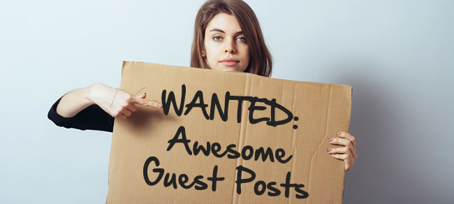 Guest post image girl with board in hand