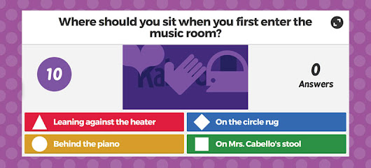 Start off Music with a Kahoot!