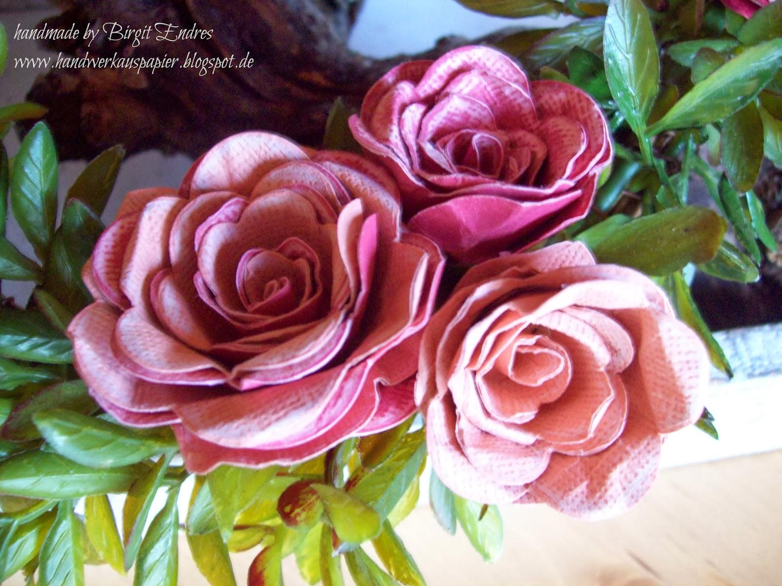 handwerk aus papier rosen tulpen nelken alle blumen welken. Black Bedroom Furniture Sets. Home Design Ideas