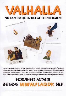 Flyer for www.flad.dk
