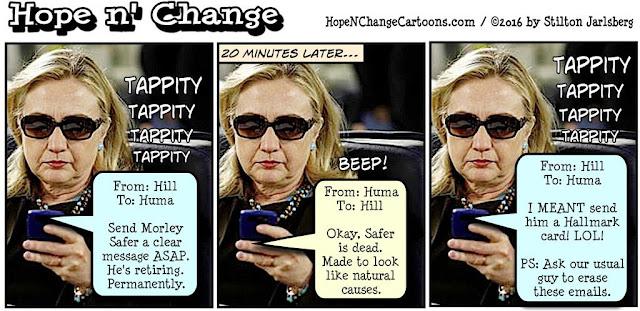 obama, obama jokes, political, humor, cartoon, conservative, hope n' change, hope and change, stilton jarlsberg, hillary, murder, morley safer, cbs, terror, ISIS, Egypt, airliner