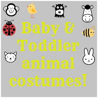 baby and toddler animal costumes