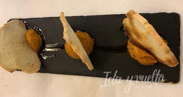 Comer en Antequera Arte de Cozina aperitivo