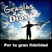 Gracias a Jesucristo.