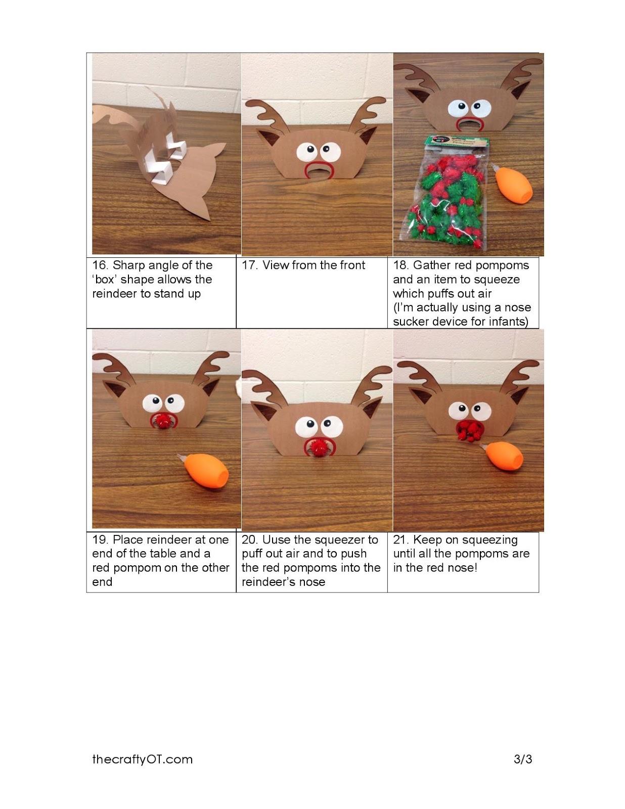 The Crafty Ot Easy 1 Winter Fine Motor Activities