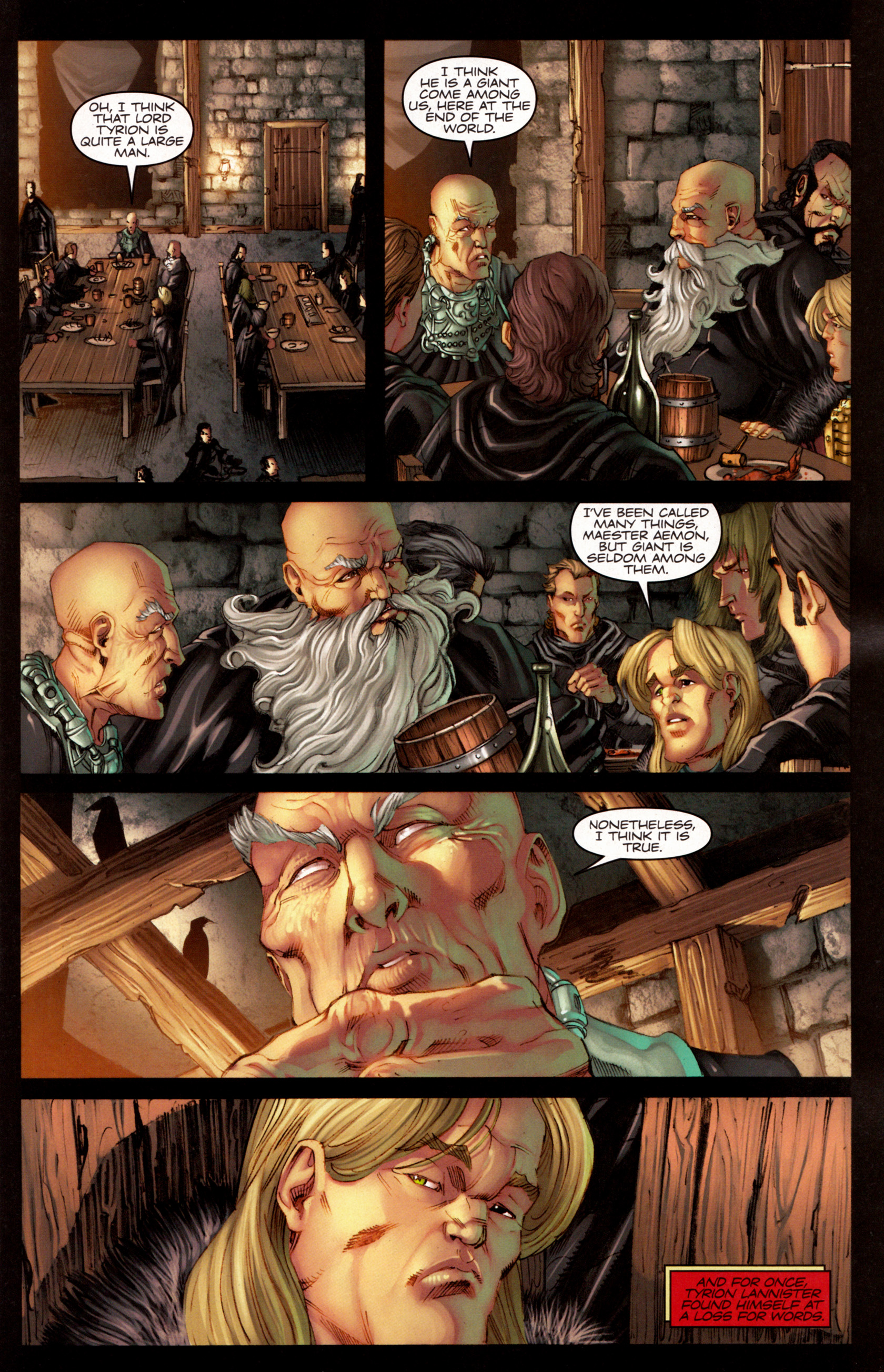 Read online A Game Of Thrones comic -  Issue #7 - 5