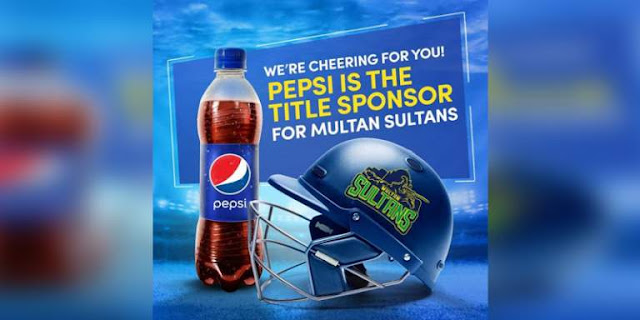 Pepsi powers #MultanSultans for Pakistan Super League-4 - #HBL_PSL_4