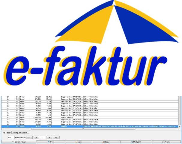 e-Faktur Gagal Upload Error Could Not Open Hibernate Session For Trasaction