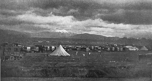 THE CAMP OF SECTION THREE AT SAKULEVO IN THE SPRING OF 1917