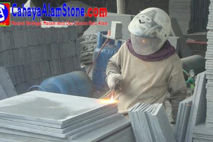 Harga Batu Andesit Berbagai Ukuran Termurah Januari 2021