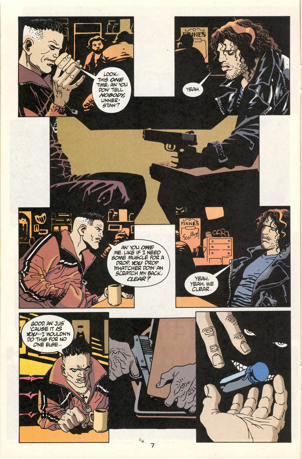 Read online 100 Bullets comic -  Issue #22 - 8