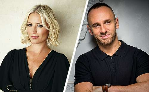 Denise Van Outen and Mark Heyes
