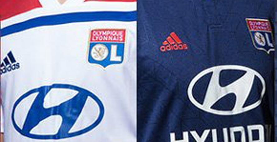 The Adidas Lyon 18-19 home kit introduces a clean 8e9c6c26e