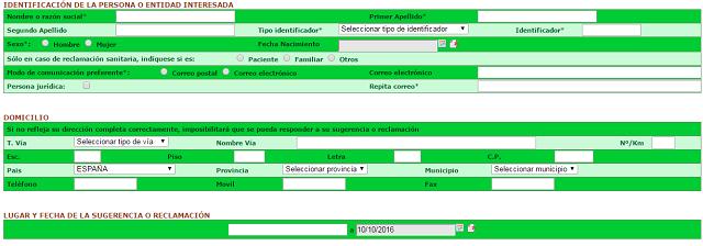 Identificación para la reclamación