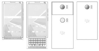 Blackberry Android Terbaru dengan Dual Kamera Tersembuyi