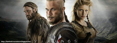 Couverture facebook avec photo viking