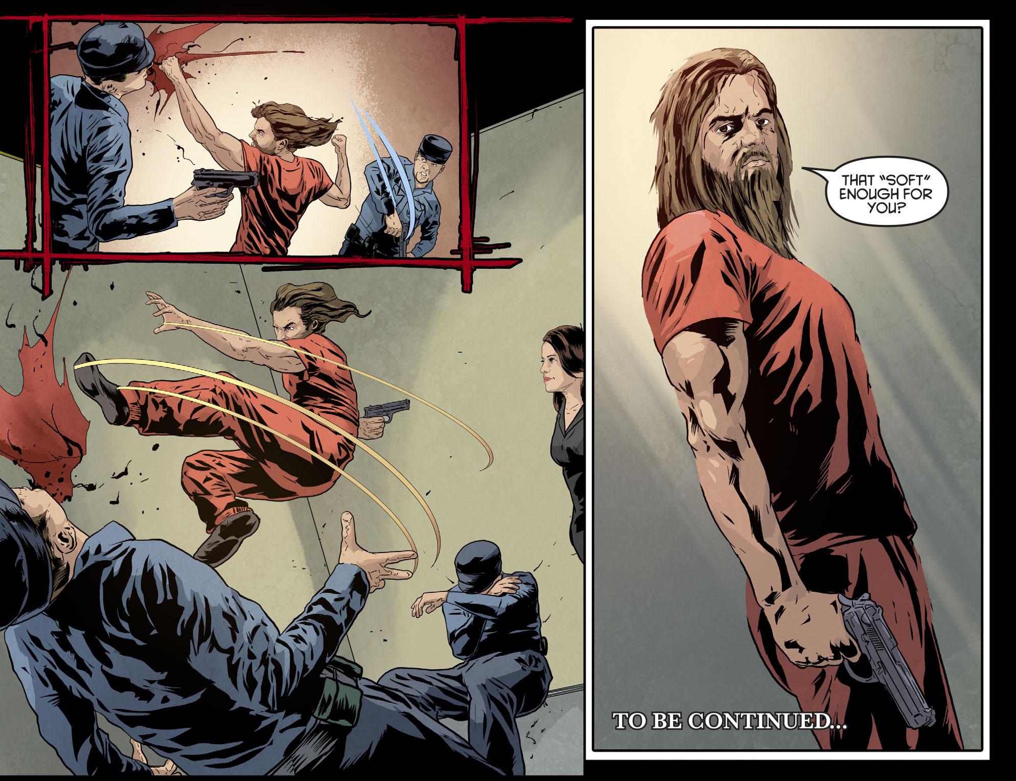 Read online Arrow: Season 2.5 [I] comic -  Issue #7 - 22