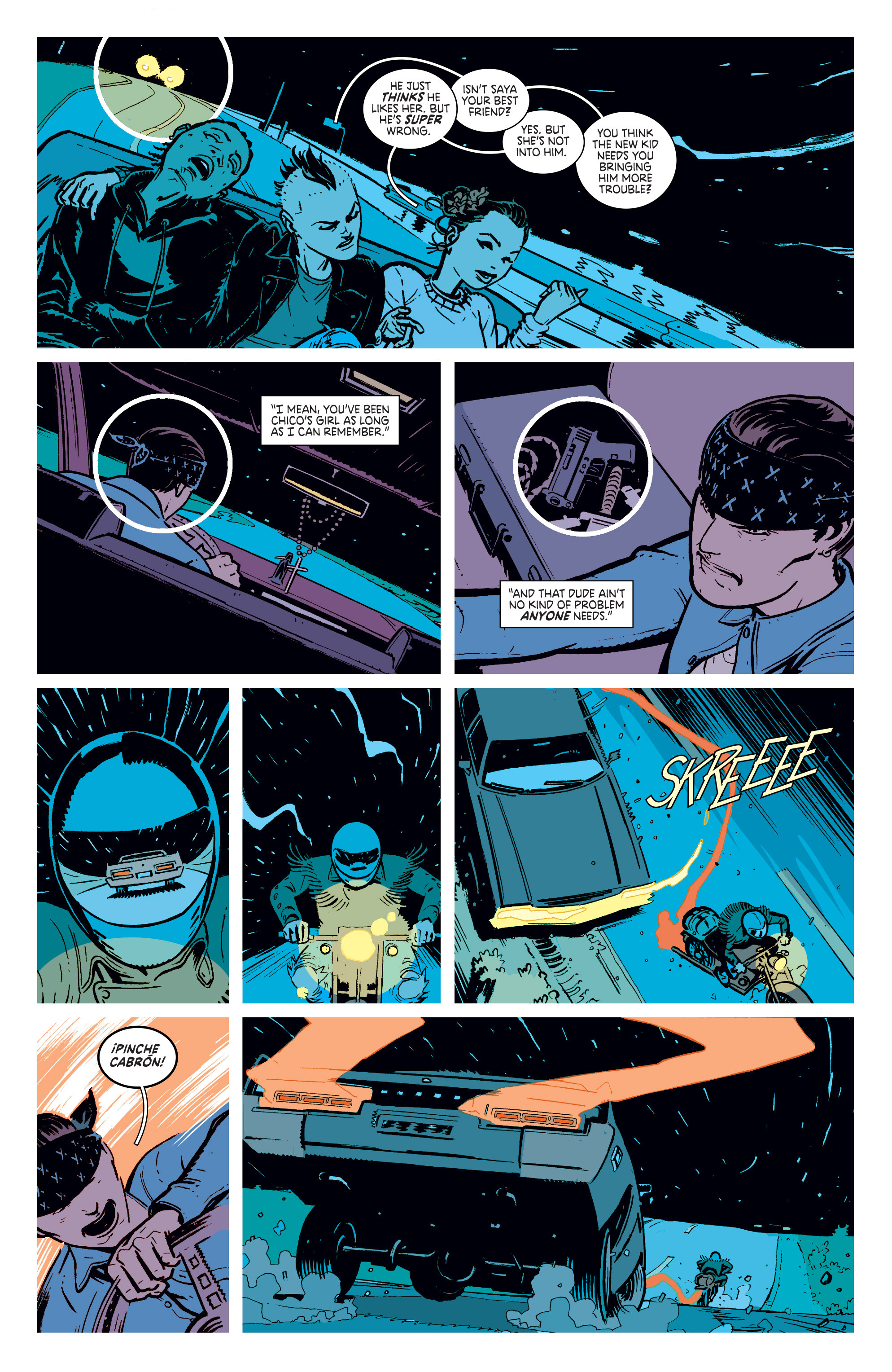 Read online Deadly Class comic -  Issue #4 - 13