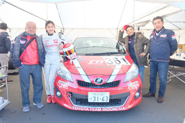 Toyota Team Indonesia Fuji Speedway