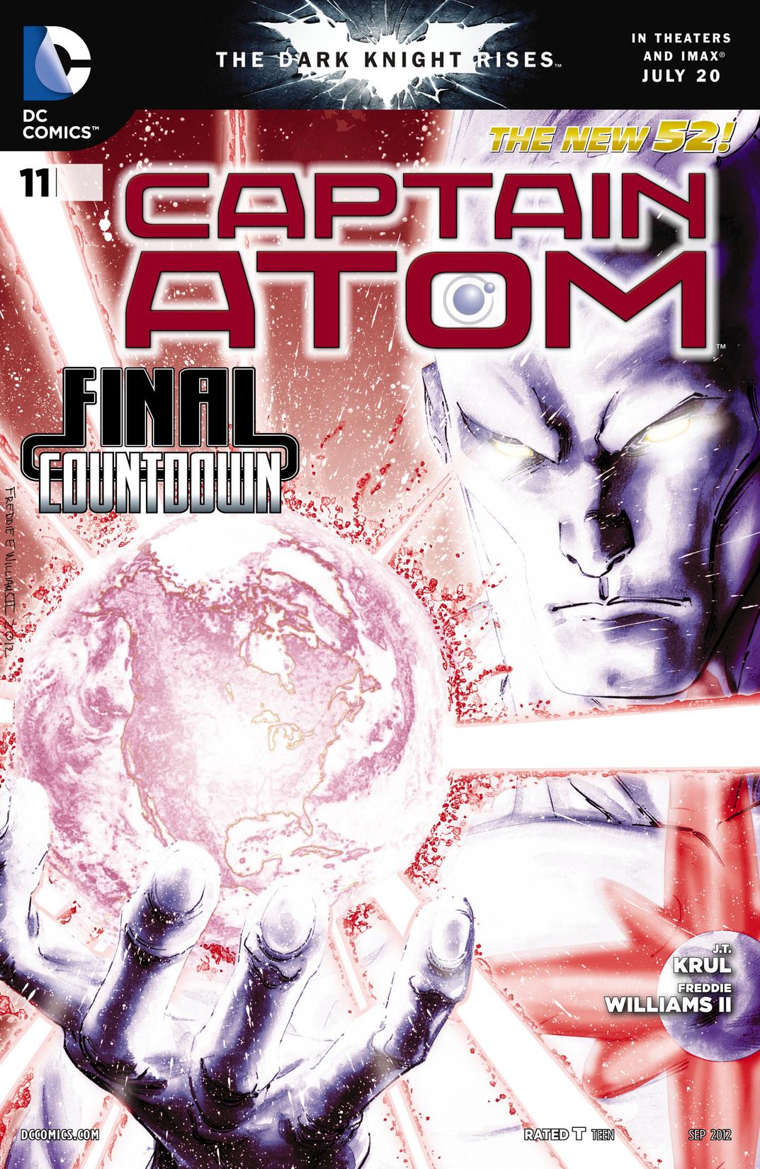Captain Atom (2011) 11 Page 1