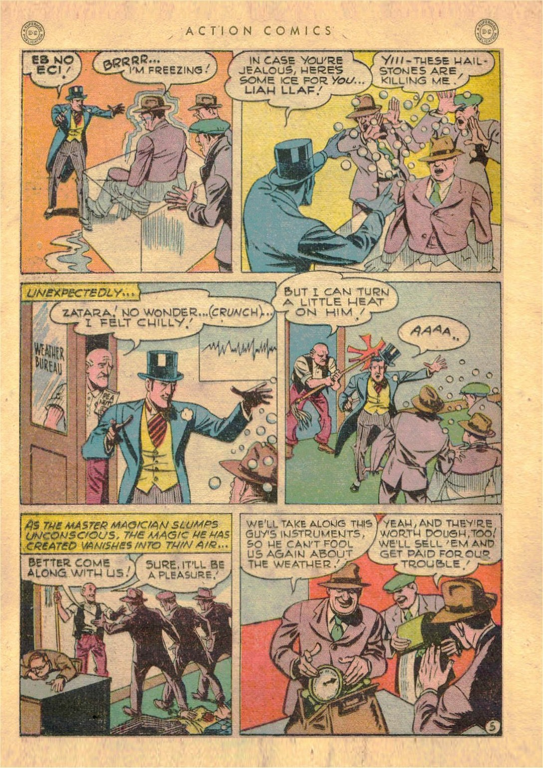 Read online Action Comics (1938) comic -  Issue #107 - 27
