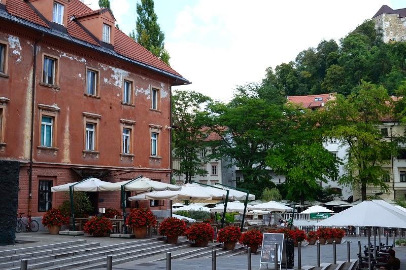 Lubjana, Slovénie, Europe, Voyage,