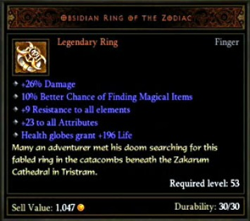 Bul Kathos Wedding Band.Wear 2 Of The Same Legendary Ring Diablo Iii News And Guides