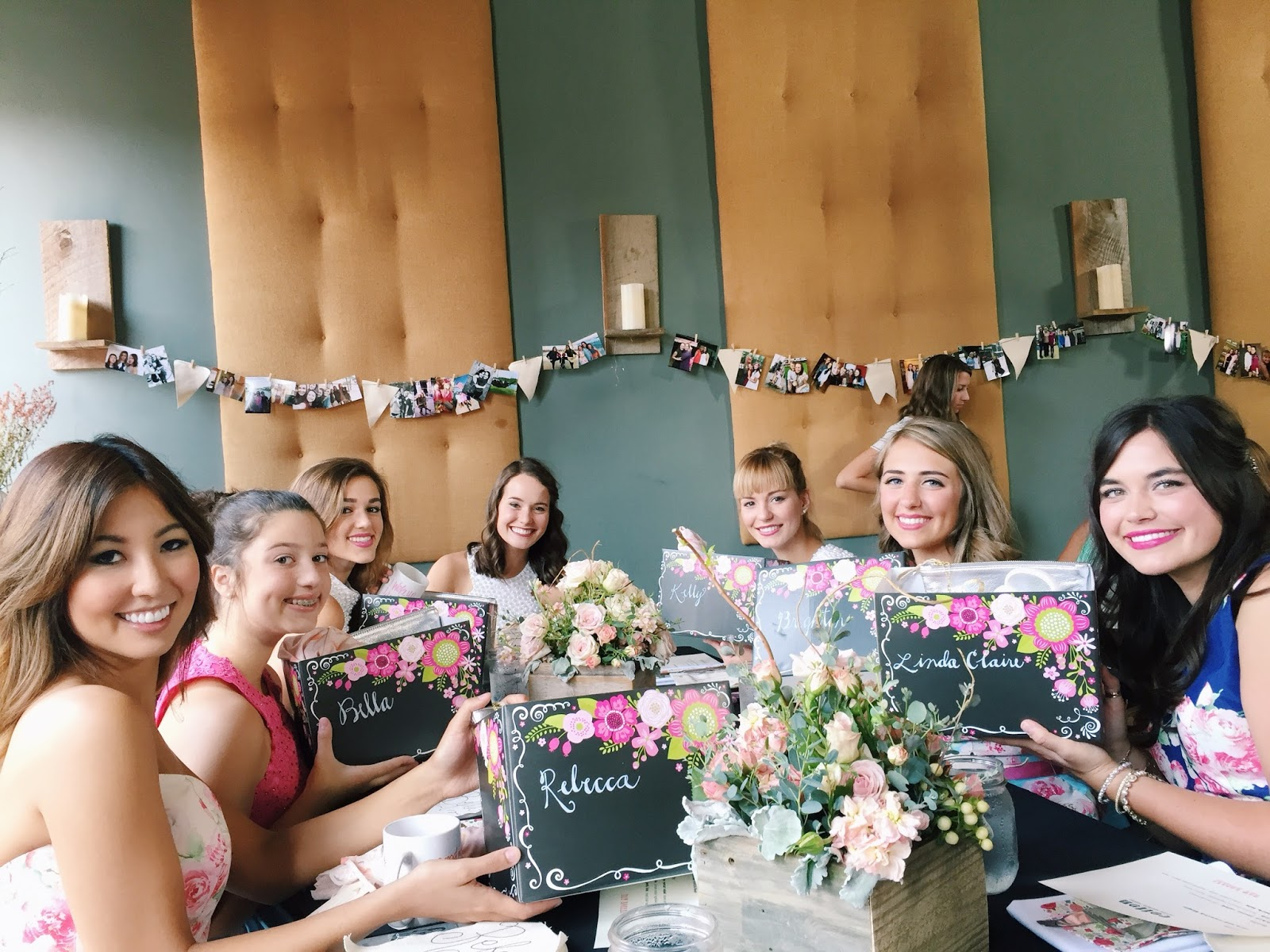 bridesmaids luncheon