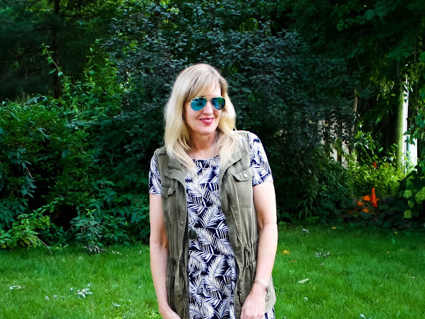 How to Wear Palm Print into Fall