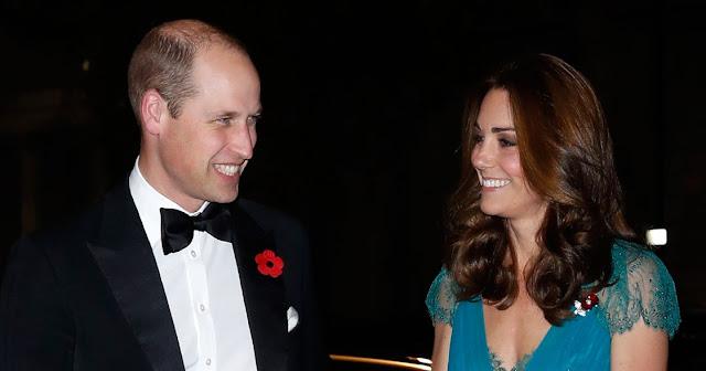 Kate i William na gali Tusk