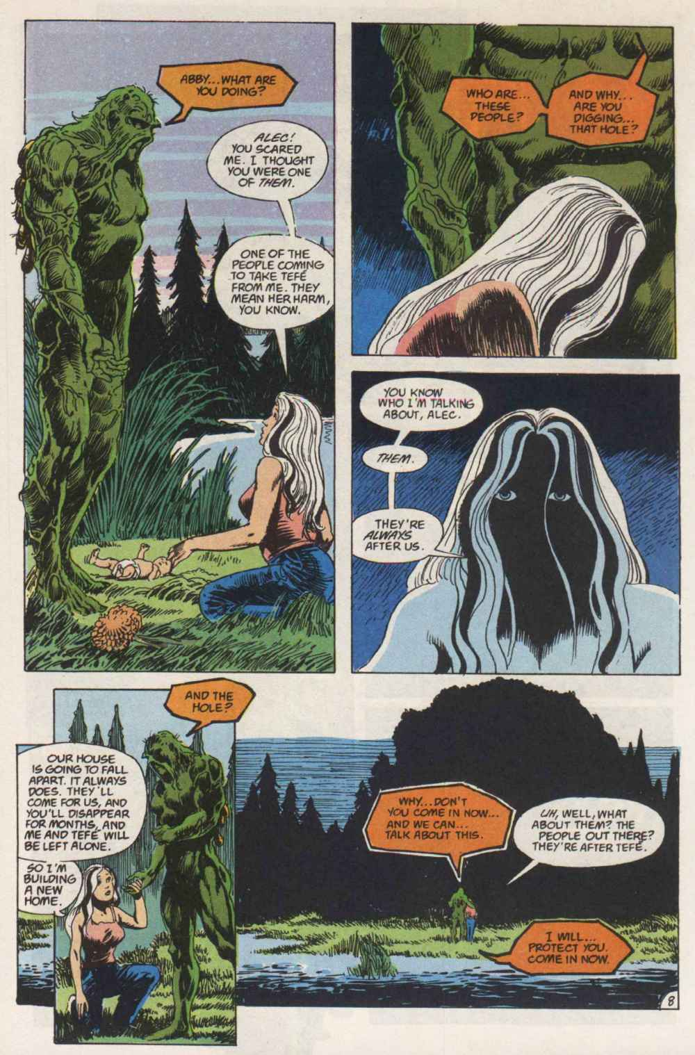 Swamp Thing (1982) Issue #91 #99 - English 8