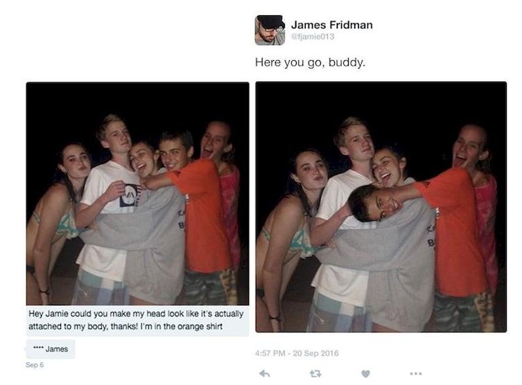 10 Editan Photoshop Lucu Karya James Fridman Ini Ngetrol Abis Lucu Me Gambar Meme Berita